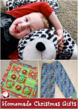 Homemade Christmas Gifts Easy Sewing Projects From Santa