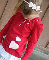 Love ly Valentines Shirt and Headband Tutorial