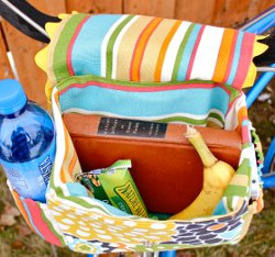 Make Your Own Bicycle Basket