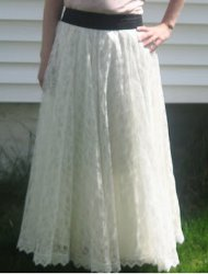 Old Dress Into a Maxi Skirt | AllFreeSewing.com