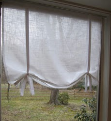 Pottery Barn Inspired Drape Shade Curtains