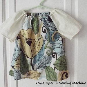 Pretty DIY Peasant Top