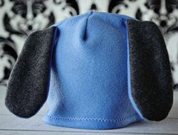 How to Make a Fleece Hat With Ears  3601f71b621