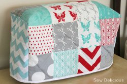 10 Tutorials for How to Make a Sewing Machine Cover ...