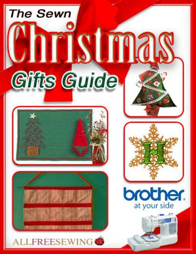 Quot the sewn christmas gifts guide ebook allfreesewing