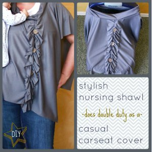 Stylish DIY Nursing Cover Up