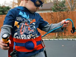 Superhero Utility Belt & Mask