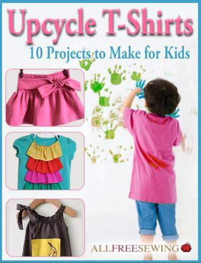 download the upcycle t shirts 10 projects to make for kids ebook now