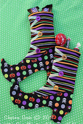 Witch Shoe Treat Bag