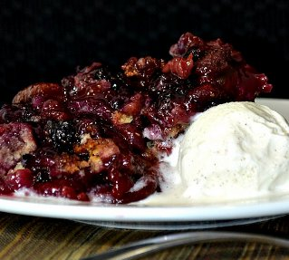 Berry Cobbler for Eight