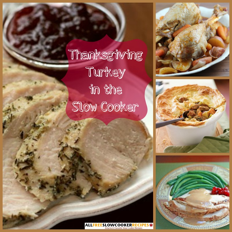 Thanksgiving In A Slow Cooker: 269 Slow Cooker