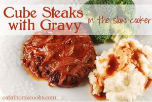 All Day Cube Steaks with Gravy