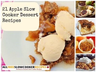 21 Apple Slow Cooker Dessert Recipes