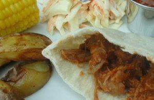 Barbecue Pulled Turkey | AllFreeSlowCookerRecipes.com