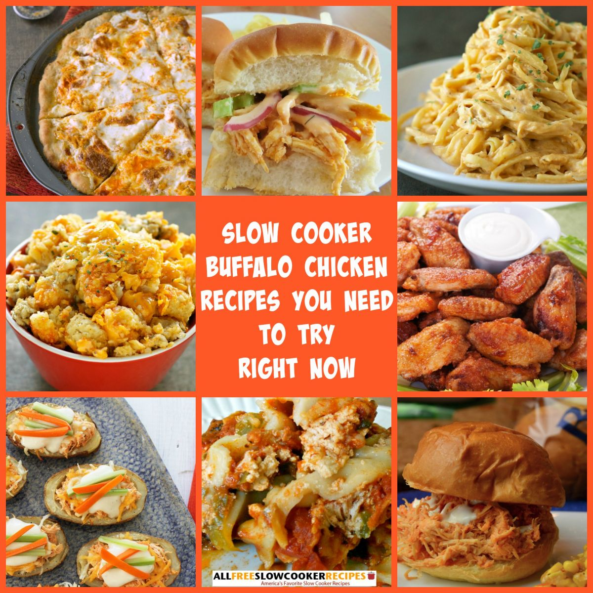 Slow Cooker Buffalo Chicken Recipes
