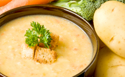 Cheddar Potato Soup
