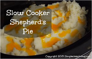 Slow Cooker Cheddar-Topped Shepherd's Pie Recipe ...