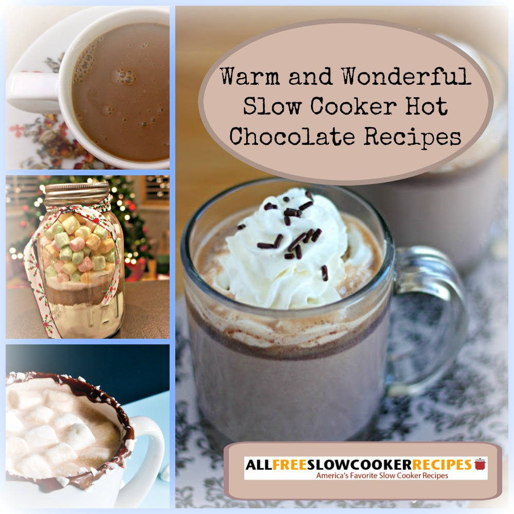 Slow Cooker Hot Chocolate Recipes