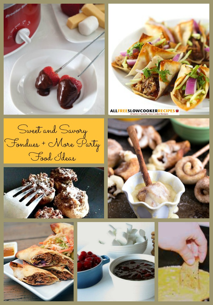 Fondue Dinner Party Ideas Part - 30: 13 Fabulous Sweet And Savory Fondue Recipes, Plus 7 More Party Food Ideas