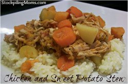 Freezer Cooking: Chicken and Sweet Potato Stew