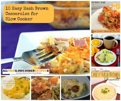 10 Easy Hash Brown Casseroles