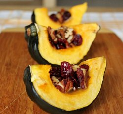 Hearty Stuffed Acorn Squash
