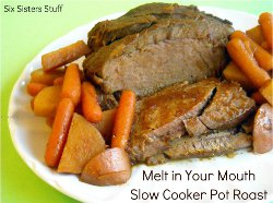 Melt in Your Mouth Slow Cooker Pot Roast