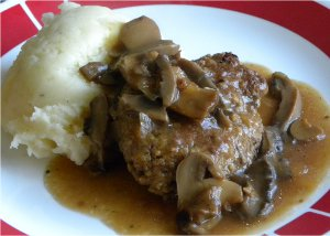 Old Fashioned 1950s Salisbury Steak