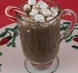 Slow Cooker Peppermint Hot Chocolate/Peppermint Mocha