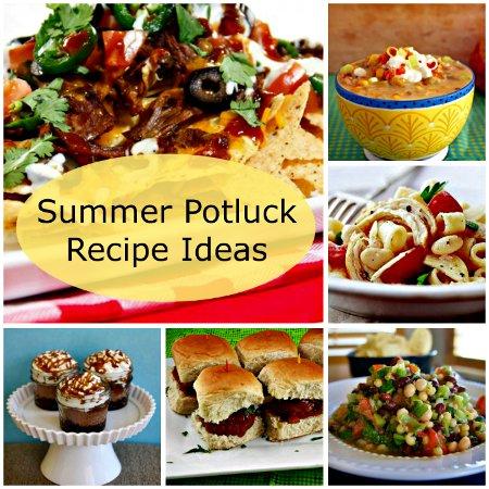 Easy potluck recipes summer