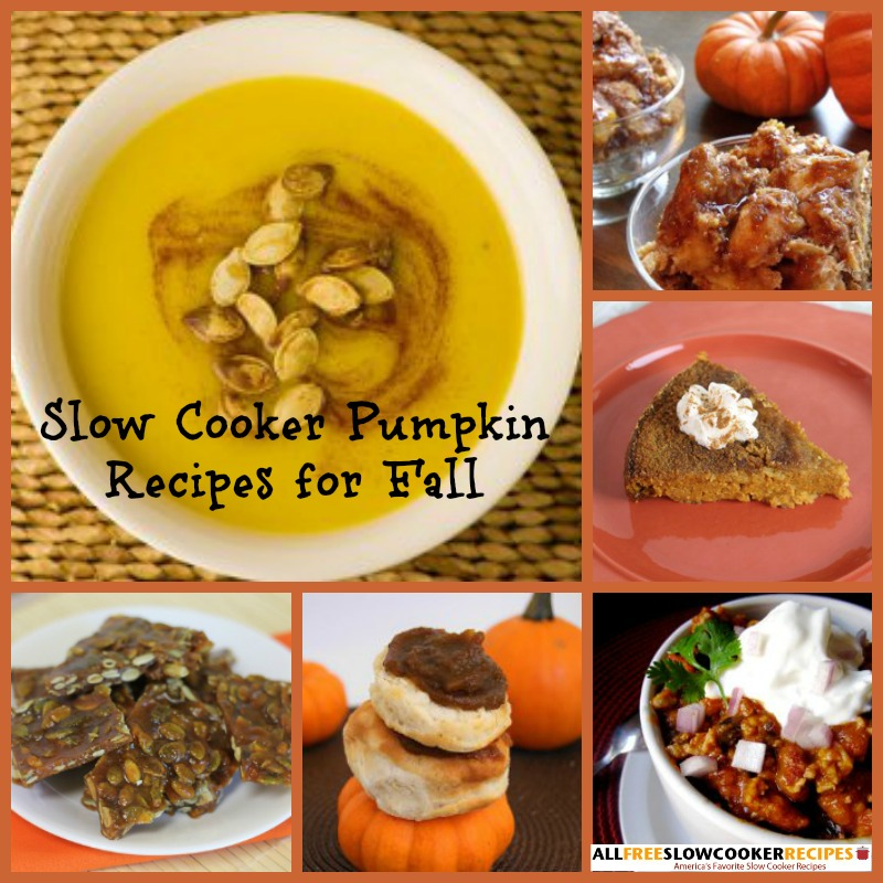 Slow Cooker Pumpkin Recipes for Fall