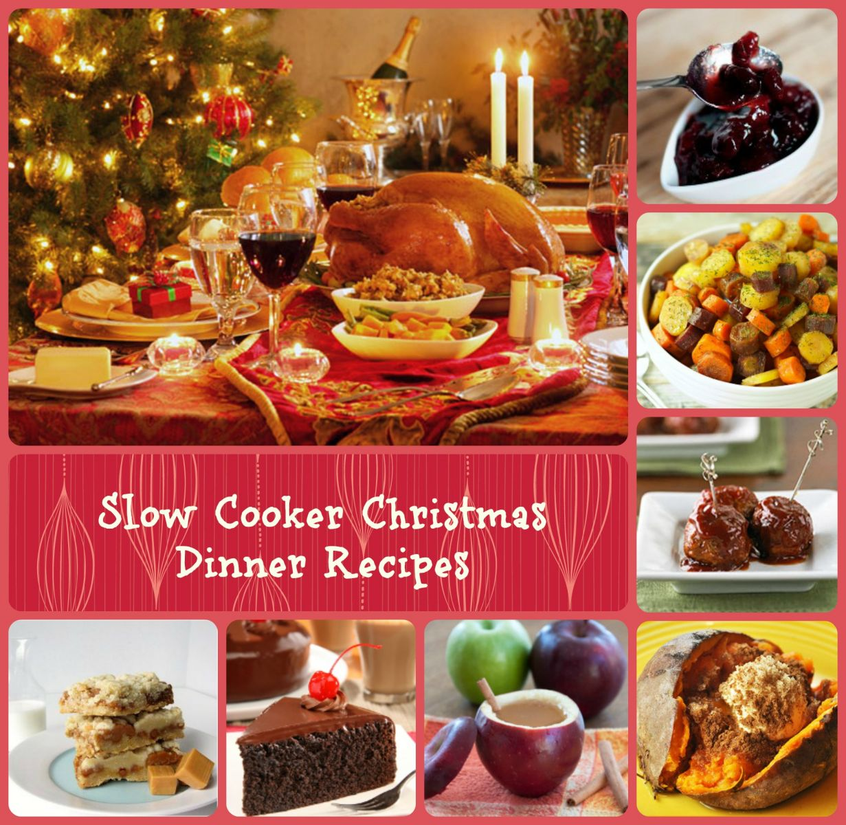 45 recipes for christmas dinner plus bonus free ecookbook for Ideas for christmas dinner