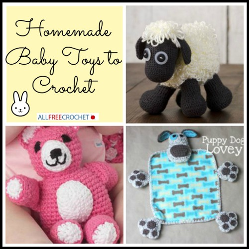 baby toys to crochet