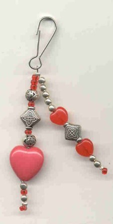 Heart Zipper Pull