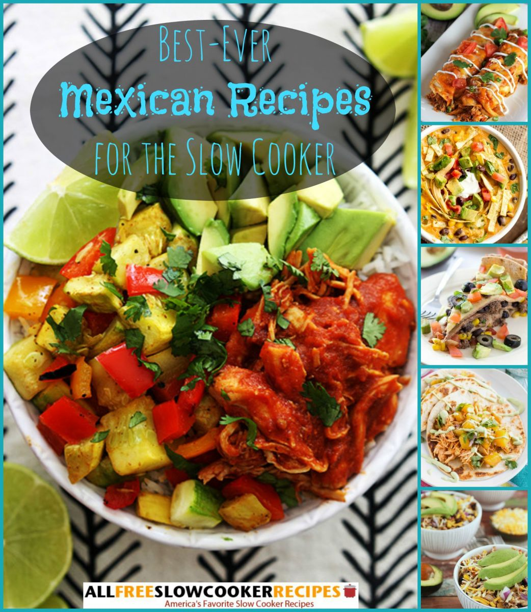 Best Mexican Slow Cooker Recipes