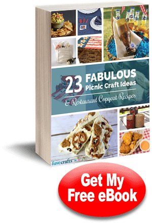 12 Fabulous Picnic Craft Ideas + Restaurant Copycat Recipes