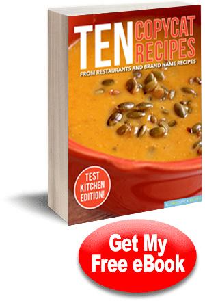 10 copycat recipes from restaurants brand name recipes free ecookbook - Halloween Casserole Recipe Ideas