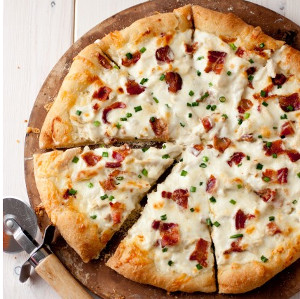 Just-Like CPK Chicken Alfredo Pizza