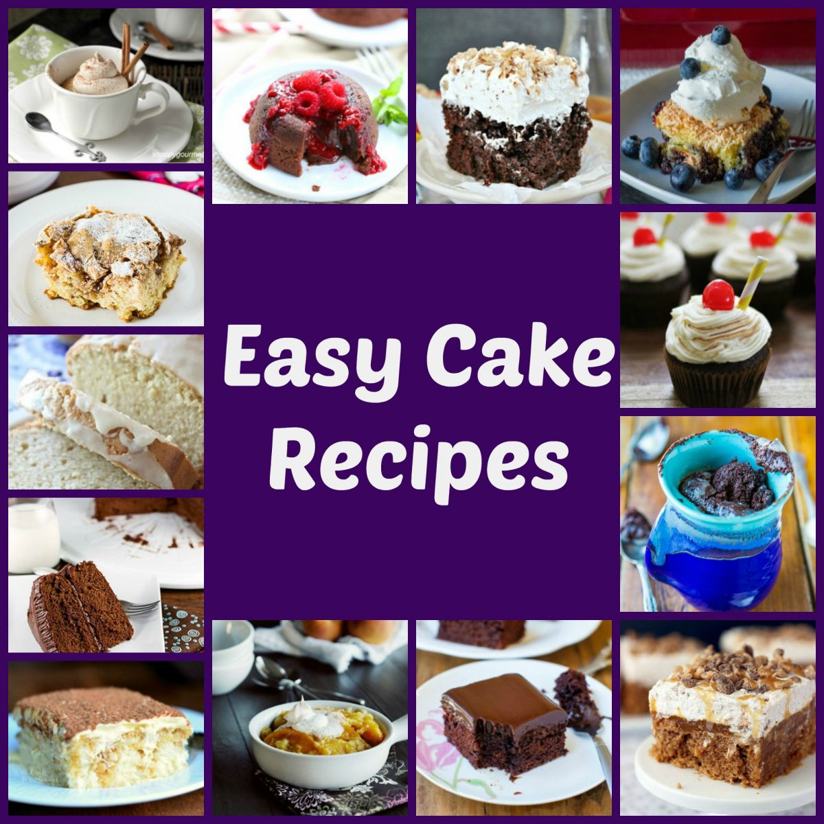 Recipes for Cake