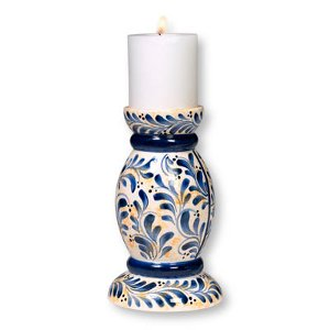 Amish Leaf Candle Holder