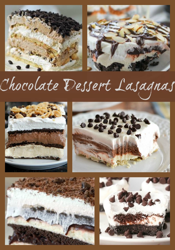 Dessert Lasagna Recipes