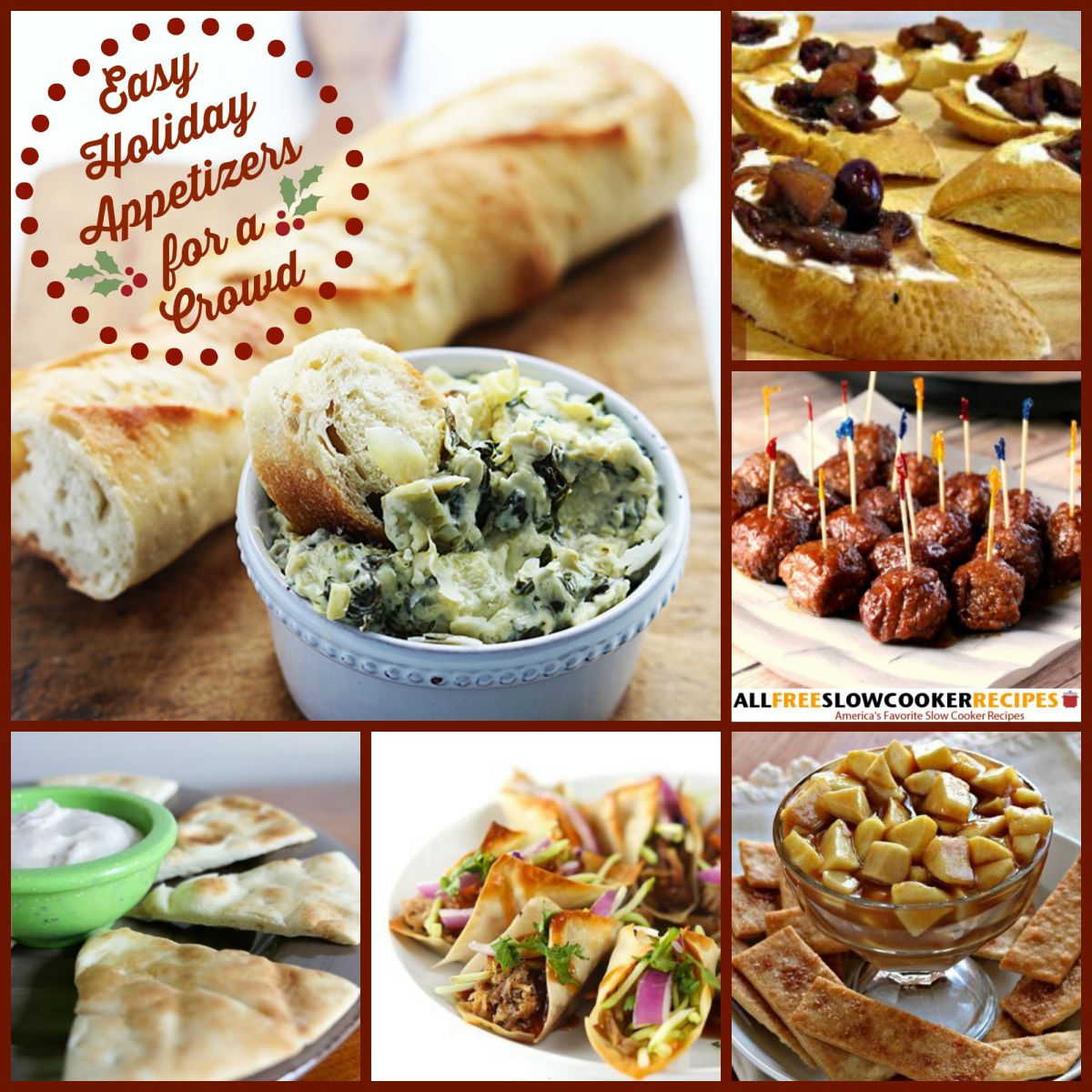 Slow Cooker Christmas Recipes 8 Christmas Appetizer Recipes Plus