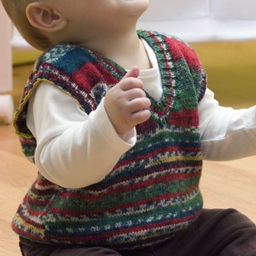 Baby Holiday Vest