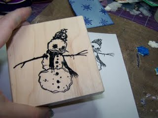 Snowman Gift Tag 1