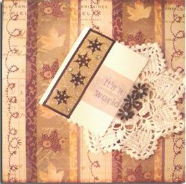 Christmas Cover Story Card