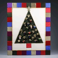 Christmas Jewels Wall Quilt