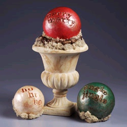 Christmas Sentiment Spheres
