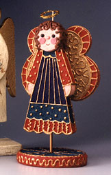 Colorful Christmas Angel Decoration II