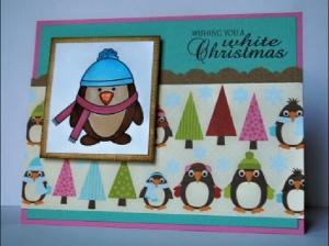 Penguin Christmas Cards Homemade.23 Homemade Christmas Cards Designs You Ll Love