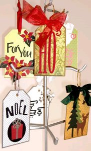 Festive Holiday Tags